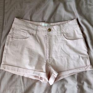 Melissa & Marley blush pink shorts